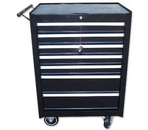 7 Drawers Heavy-Duty Mechanic Tool Box with Side Handles Wantirna South Knox Area Preview