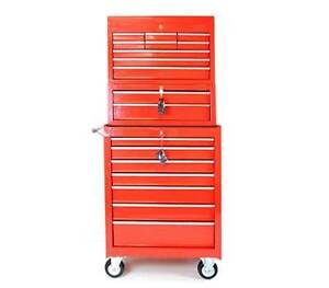 3 Piece Mechanic Handyman Multi Drawer Tool Box Wantirna South Knox Area Preview