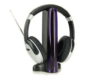 New 4 in 1 Wireless/Wired Headset with FM Radio