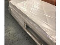 Slide store single divan bed and mattress, FREE DELIVERY