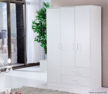 clearance :75% off 3/2 Door Cupboard/Wardrobe from ONLY $149