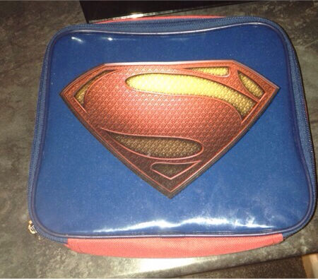 Superman pack lunch case