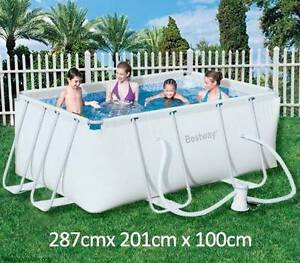 Bestway Steel Pro Frame Above Ground Swimming Pool Bayswater Knox Area Preview