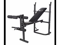 Pro Fitness Multi-use Workout Bench & Weight Plates