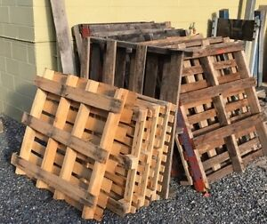 Wood/timber Pallets which goods can be stacked, stored or moved Coopers Plains Brisbane South West Preview