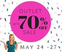 Thirty-One is having an OUTLET SALE from May 24th-27th!