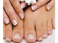 Luxury manicure/pedicure, acrylic nails, gel polish