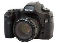 Canon EOS 5D & Canon EF-50mm F1.4 plus Canon EF-70-200 F4 L