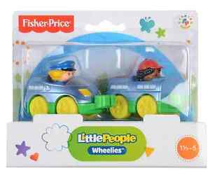 Fisher Price Little People Wheelies Train Toy 2-Pack BRAND NEW