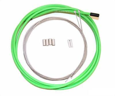 SHIMANO SLR MOUNTAIN BIKE BRAKE CABLES /& HOUSING SET LIME GREEN
