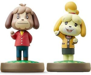 Pair of New Digby & Isabelle amiibo
