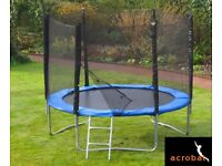 BRAND NEW Acrobat Plus 8ft trampoline with enclosure RRP £260
