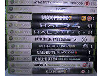 XBOX 360 GAMES 11 DIFFERENT TITLES