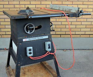 Table Saw 10 inch Rockwell Beaver
