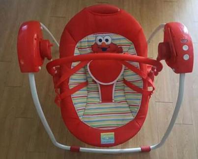 Elmo swing urgent needs gone