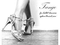 Tango for ballet dancers