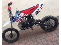 125 cc Manuel pitbike