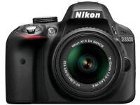 Nikon d3300 plus extras