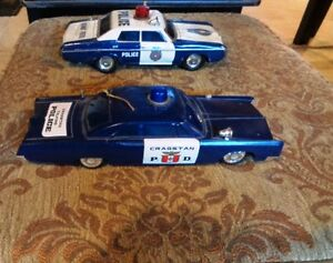 Japan Tin Police Highway Patrol 68 Chevy Talking Dodge/Plymouth