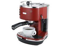 DeLonghi ECO310 Espresso Machine Red £50.00 (RPP £149)