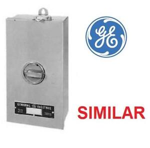 NEW* GE CIRCUIT BREAKER - 125578266 - WITH ENCLOSURE