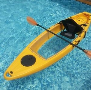 "Transparent Floor ""WINNER""  Kayak"