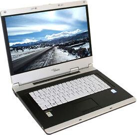 """FUJITSU V3315 15.4"""", 1.86GHz(x2), 2GB, 60GB, WIFI, DVDRW, OFFICE, ANTIVIRUS, WINDOWS 7"""