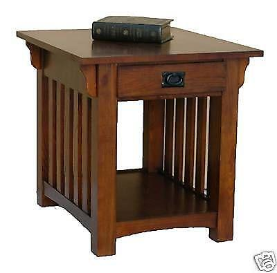 End Table With Drawers Ebay