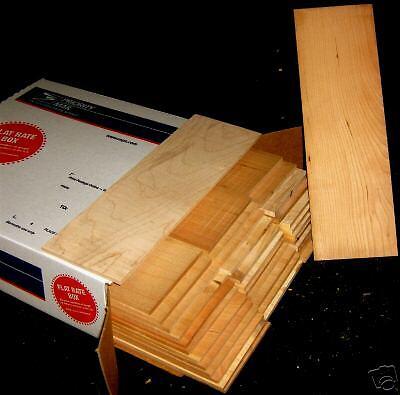 "30 pcs. 1/4"" x 4"" x  12""  cherry thin boards hobby craft wood"