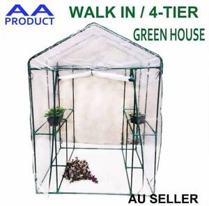 Walk In /4-Tier Garden Greenhouse Plant Shed Green House Shade wi Seven Hills Blacktown Area Preview