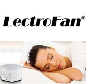 NEW LECTROFAN WHITE NOISE MACHINE - 115531012 - FAN SOUND WHITE
