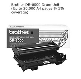 Unopened Brother Printer Drum, DR 6000 and Toner TN6600 as posted separately - reduced