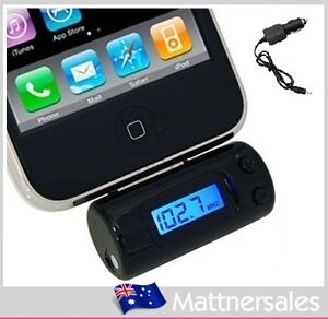 FM Transmitter Car Charger for iPod iTouch iPhone 3G 4G