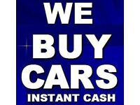 WE BUY ALL CARS TOP PRICES PAID