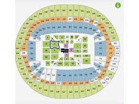Anthony Joshua vs Klitschko Tickets, FLOOR/RINGSIDE Block E