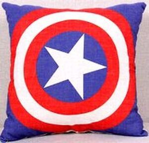 New- Captain America Pillow Cover