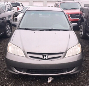 2005 Honda Civic Dx Special Edition