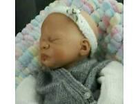 Reborn premature baby doll