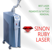 Laser hair, tattoo remover and slimming machines for sale!