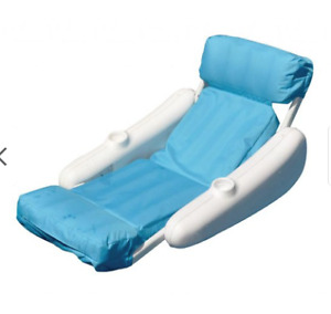 2 Sunchaser luxury floating pool loungers - $40 for both