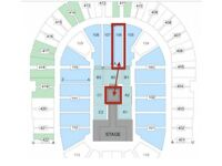 2 x WWE RAW Tickets - Block 106 Row AA - O2 Arena London