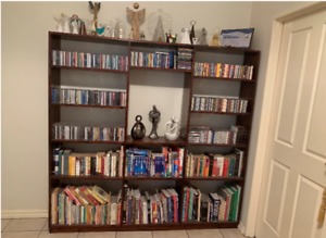 Large bookcase / room divider