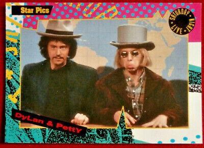 SATURDAY NIGHT LIVE - Card #086 - BOB DYLAN & TOM PETTY - Star Pics 1992