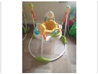 Jumperoo baby bouncer jumper clean