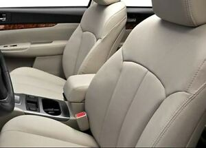 Subaru outback leather seat covers ebay for Subaru outback leather interior