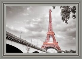 Glass Art Pictures - Eiffel Tower