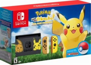 Nintendo Switch Pokemon Pikachu console  $700 OBO