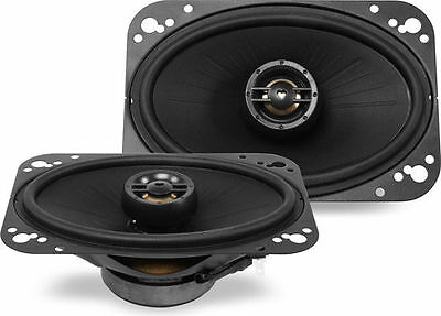 Polk Audio Dxi461 80W Rms 4  X 6  Dxi Series 2 Way Coaxial Car Stereo Speakers