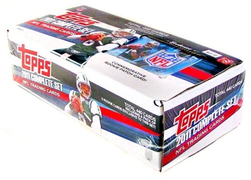 2011-Topps-Factory-Complete-440-Set-Football-Box-Cam-Newton-Rookie-Patch-Card