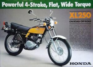 ISO HONDA XL 125, CT 125 AND XL 250 PARTS OR PARTS BIKES